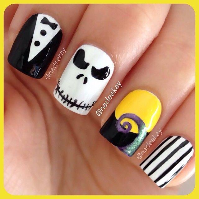 halloween by nadeekay  #nail #nails #nailart