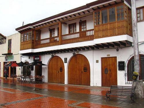 Pretty house in Chiquinquira, Boyaca, Colombia
