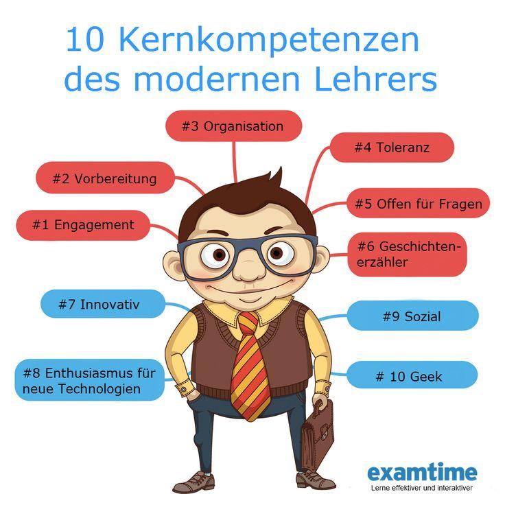 10 Kernkompetenzen des modernen Lehrers https://www.examtime.com/de/blog/10-lehrerkompetenzen-fuer-moderne-lehrer/