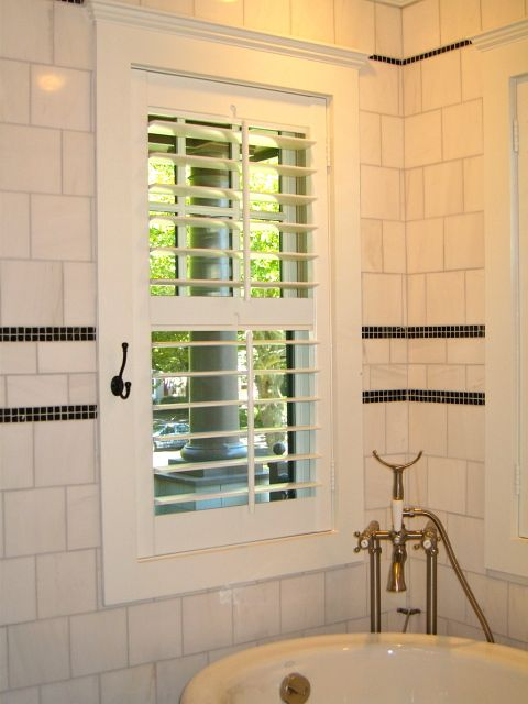 8 best images about shutters for master bathroom on - Plantation shutters for bathroom ...