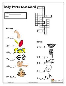 Worksheets Aphasia Worksheets 1000 images about aphasia on pinterest esl english vocabulary printable body parts worksheets