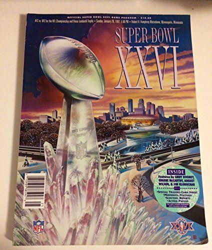 Buffalo Bills Super Bowl Programs