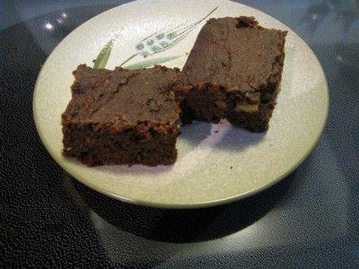 Брауниз-шоколадные пирожные (без яиц и жира) : Вегетарианская и постная кухня