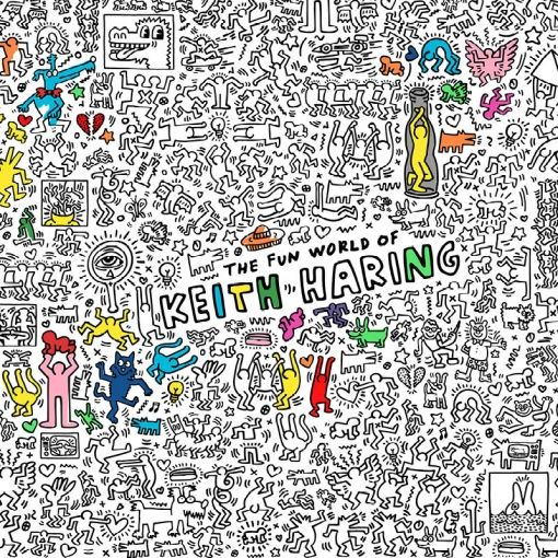 KEITH HARING coloring roll - OMY