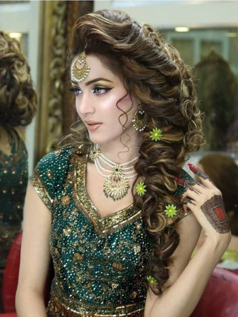 Mahrosh rana wedding hairstyles