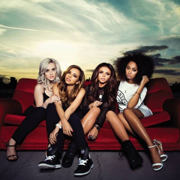Little Mix in Palladium boots on their album cover