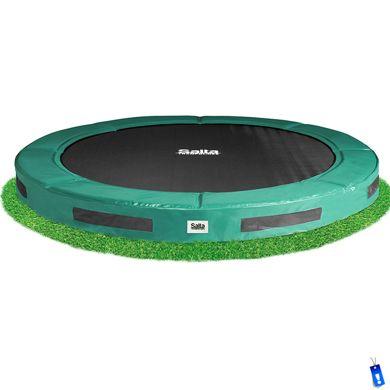 Salta excellent ground trampoline 305 cm ingraaf trampoline. Deze Salta ground ingraaf trampoline is de goedkoopste echte ingraaftrampoline van 305 cm op de Nederlandse markt