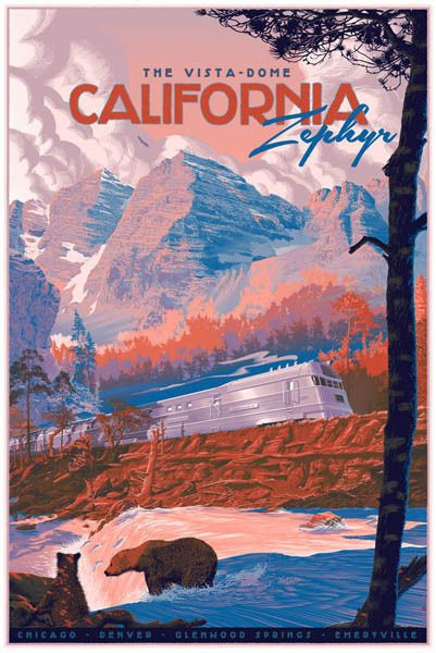 Zephyr Regular Poster - Ford Craftsman Studios