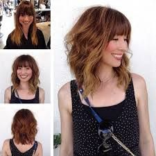 lob with bangs