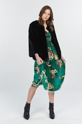 56b1266ca6 Naudic - Liberty Dress Ashbury Print - Emerald PRESALE DUE MID MARCH ...