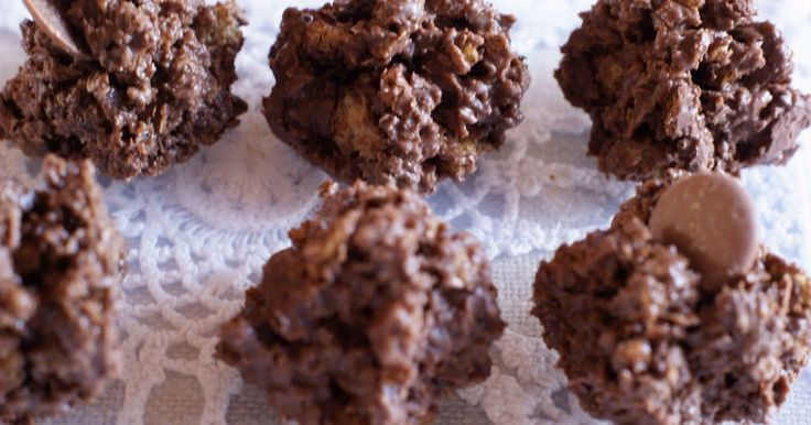 These were described to me as ferrero rochers, they are less like ferrero rochers and more like a chocolate bit hence the name. Using your H...