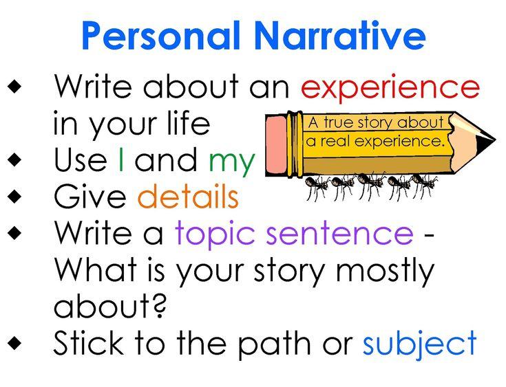 Personal memoir essay
