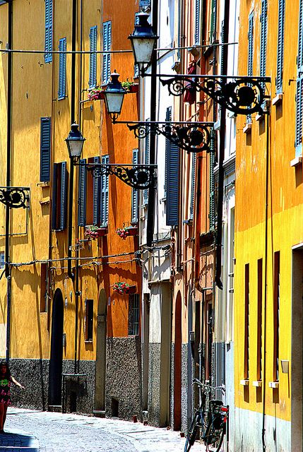 Sunshine in The Spring, Parma, Emilia-Romagna, Italy