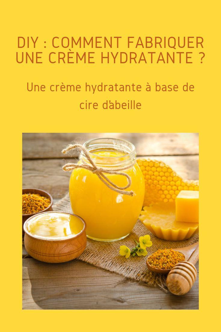 DIY : Comment fabriquer une crème hydratante ? | Crème visage maison, Creme hydratante, Creme ...