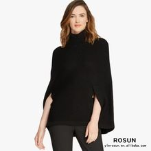 Black luxurious elegant mock neck Pullover poncho Best Seller follow this link http://shopingayo.space