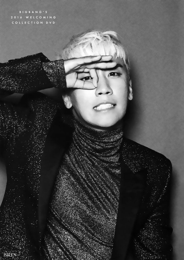 SEUNGRI //  BIGBANG'S 2016 WELCOMING POSTER