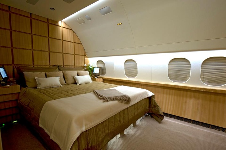11 best images about private jet charter on pinterest for Gulfstream v bedroom