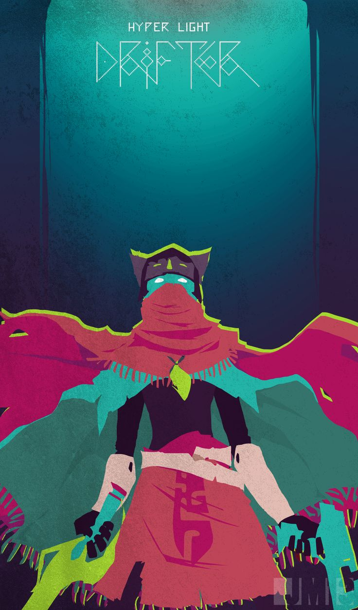 THE DRIFTER by ~0tacoon on deviantART  Hyper Light Drifter, a great indie game on kickstarter to support! http://www.kickstarter.com/projects/1661802484/hyper-light-drifter