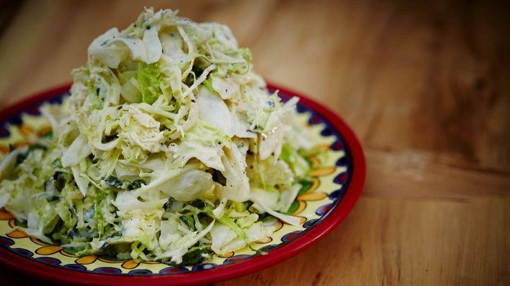 Salade de chou et fenouille