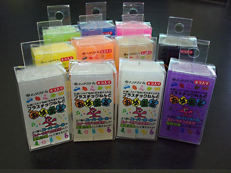 Oyumaru Reusable Molding Plastic Clay - Various Colors: 6 pcs