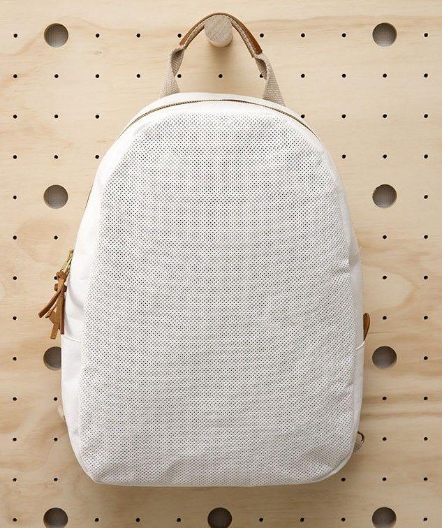 Perforated Backpack. | huntingforgeorge.com