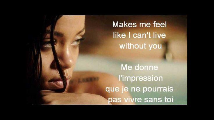Rihanna feat. Mikky Ekko - STAY (paroles et traduction)