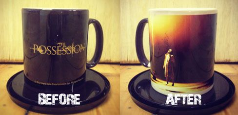 Scare yourself silly the next time you brew up by entering our fantastic competition to win 1 of 10 possessed THE POSSESSION mugs, courtesy of Lionsgate UK. The Possession is released in UK cinemas 31st August 2012.