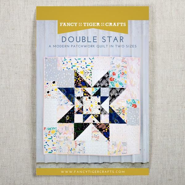 Double Star Quilt Pattern - Fancy Tiger Crafts
