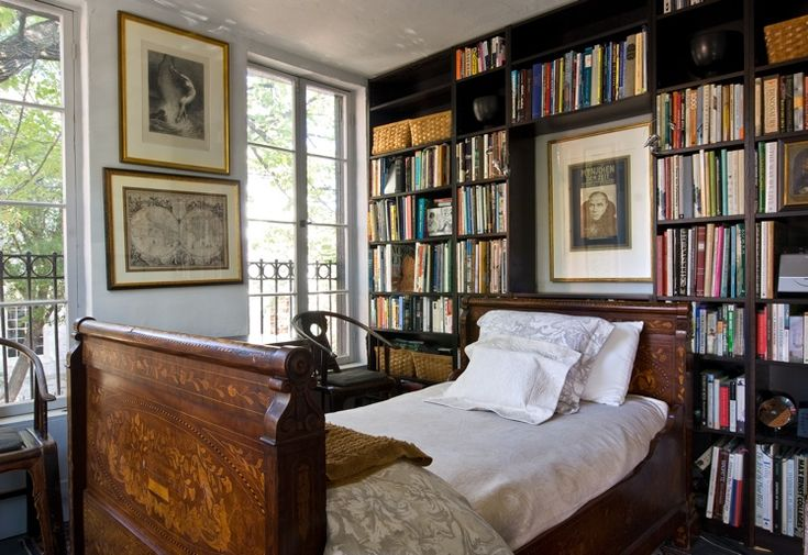 a bed fully nestled / the mind fully open / encompassing one's books / ~DJS