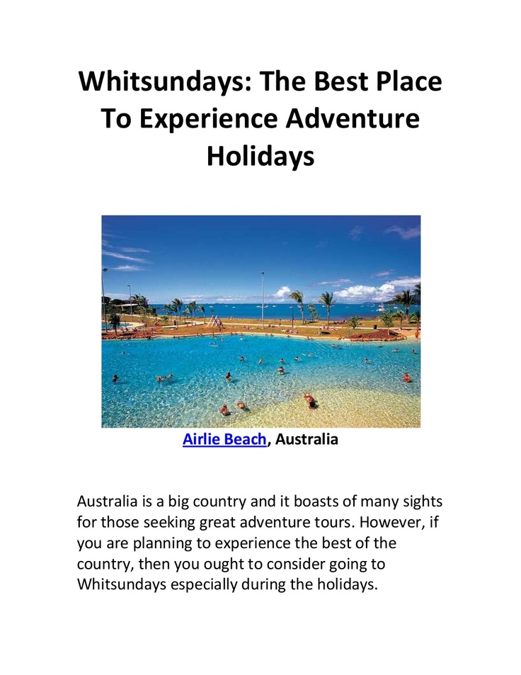 adventure tours, australian holidays, airlie beach