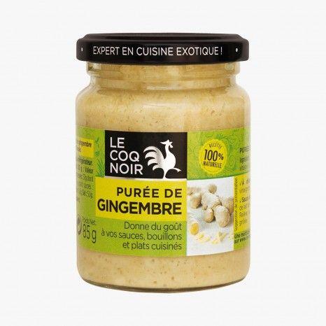 Purée de gingembre - Le Coq Noir