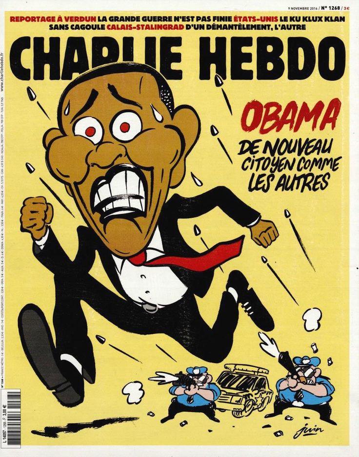 Charlie Hebdo - # 1268 - Mercredi 9 Novembre 2016 - Couverture : Juin
