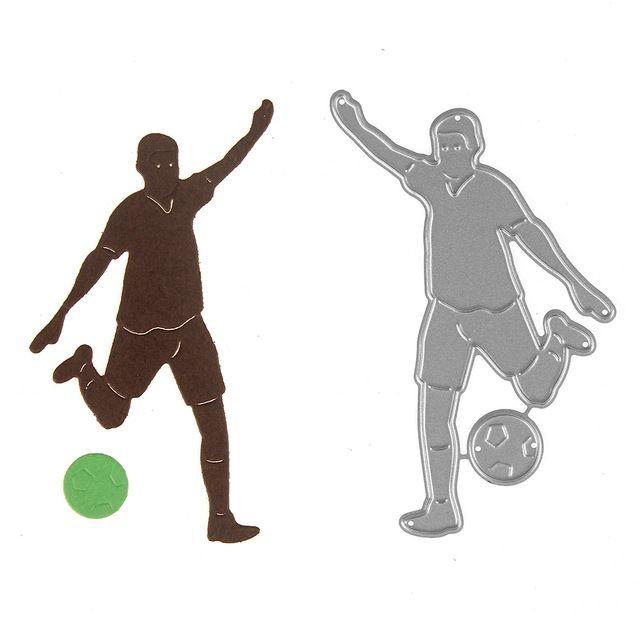 Игры в футбол для мальчиков поздравительные открытки Записки Ремесло умирает Скрапбукинг die 3D штамп DIY скрапбукинга карты решений фото украшения
