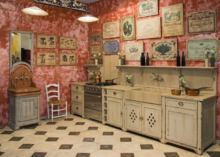 Amenager cuisine vieux meubles