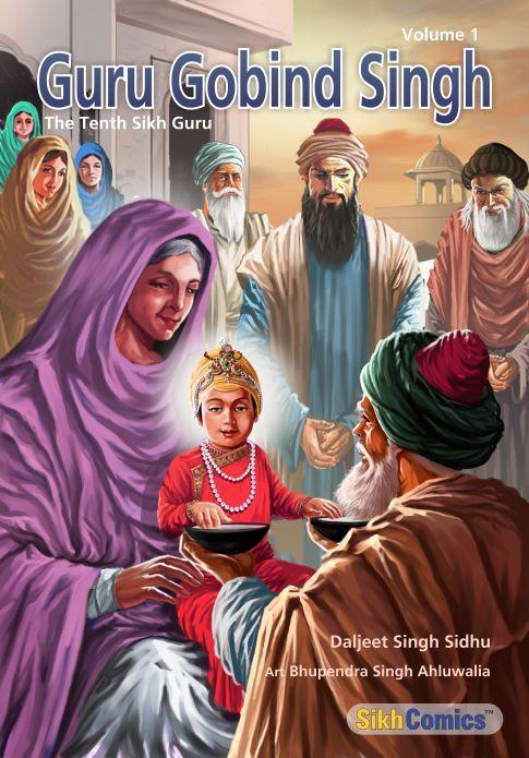 SikhComics.com - Guru Gobind Singh - The Tenth Sikh Guru, Volume 1 (English Graphic Novel), USD $3.99 (http://www.sikhcomics.com/guru-gobind-singh-the-tenth-sikh-guru-volume-1-english-graphic-novel/)