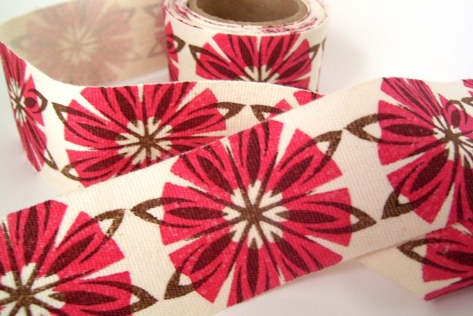 Ribbon - Sixteen Fifteen in Brown and Red by Henri Kuikens on hellopretty.co.za
