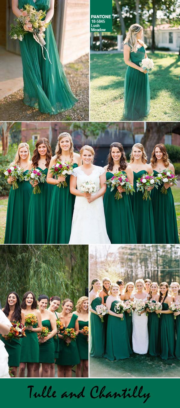 lush meadow fall wedding color ideas for bridesmaid
