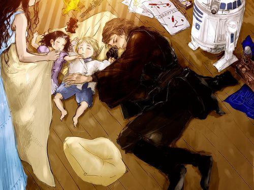 Skywalker family. If Ani went to Naboo like Padme said.