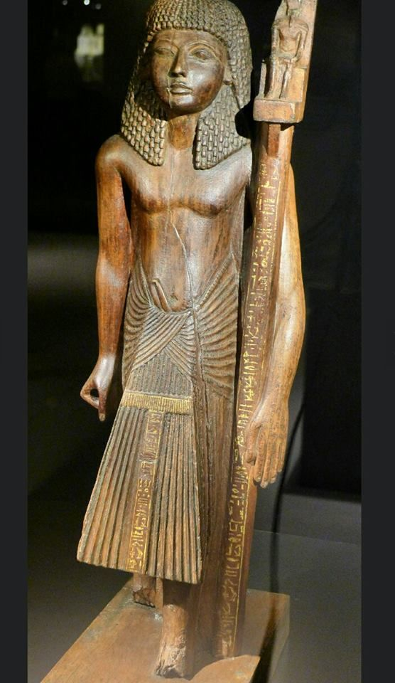 Statue of prince Hormakhet the son of king Shabaka. .