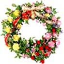 Mixed flower wreath available at : www.flowersgiftshyderabad.com/Condolence-to-Hyderabad.php
