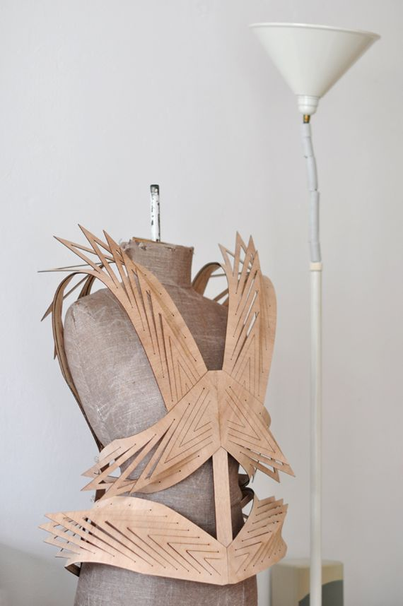 Winde Rienstra, would try to make this out of cardboard