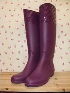 Южная Корея прокатилась 2013 специальные алмаз моды дождь сапоги сапоги для верховой езды сапоги женские высокие сапоги водную обувь - Таоба ...