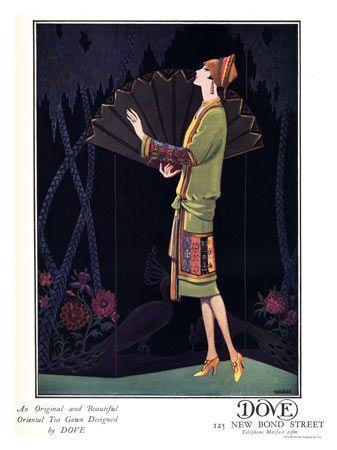 Dove Art Deco Fashions