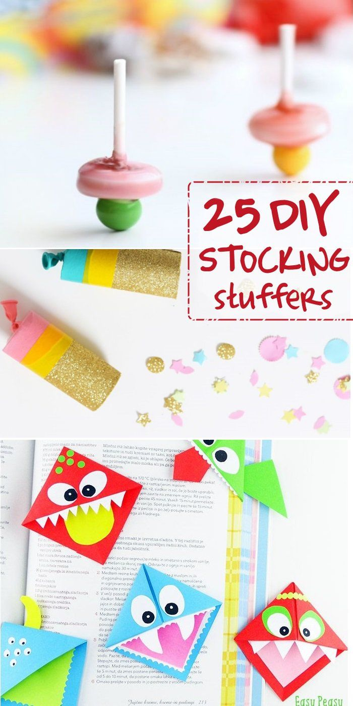 These are some of the best DIY Stocking Stuffer Ideas out there for kids!