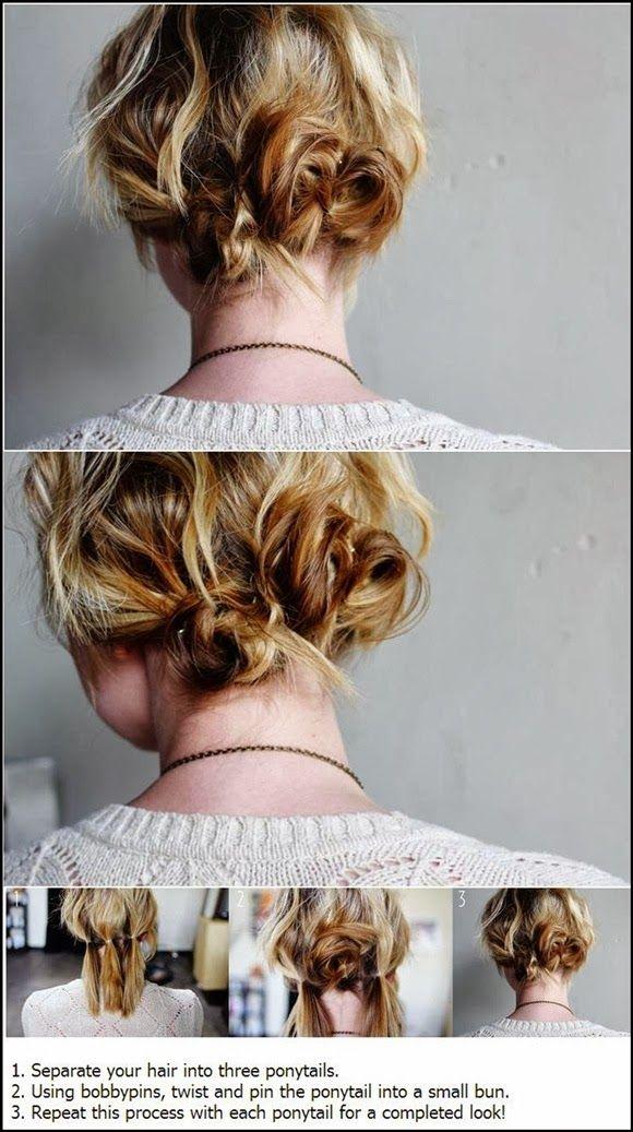 6 Pretty Cute Hairstyles For Short Hair You'll Ever See | Hairstyles |Hair Ideas |Updos