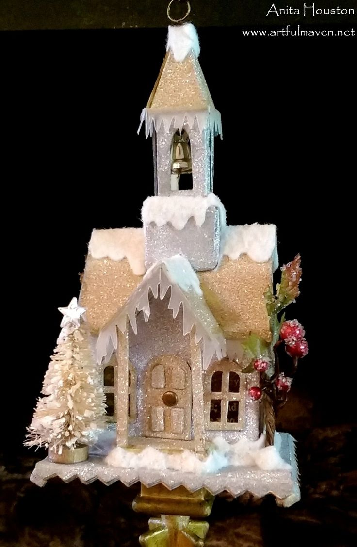 The Artful Maven Haven: Christmas Classes Tim Holtz Village Dwelling die