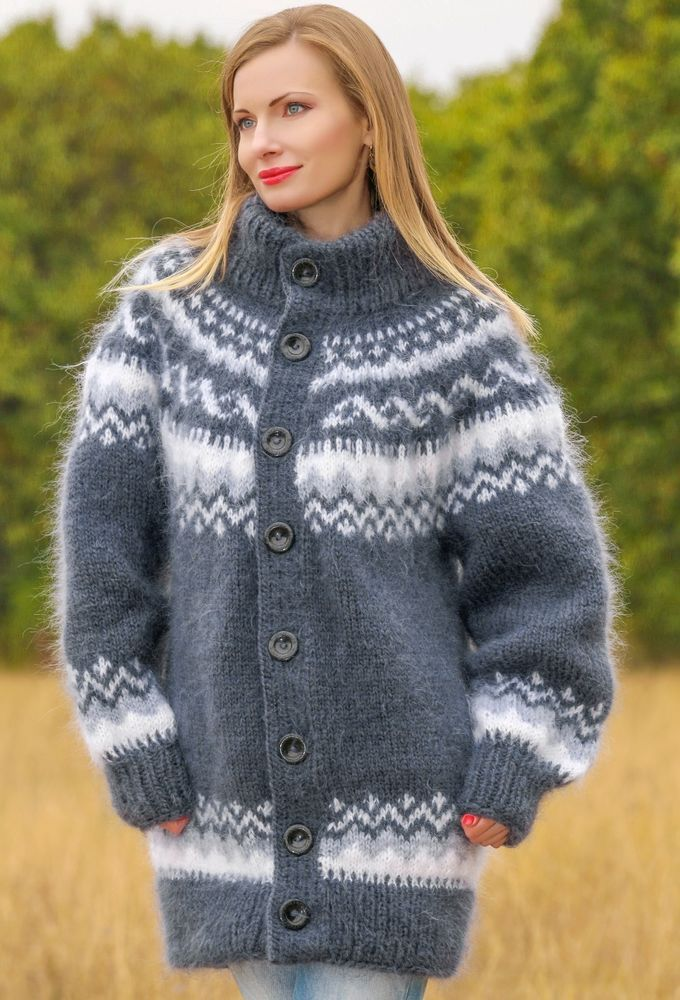 1247 best Hand knitted mohair sweaters and other fluffy ...