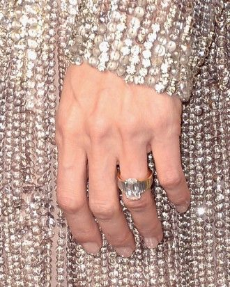 Angelina Jolie's Engagement Ring | Martha Stewart Weddings