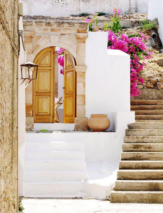De schattige huisjes van Rhodos