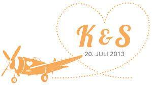 hochzeit logo flugzeug - Google-Suche